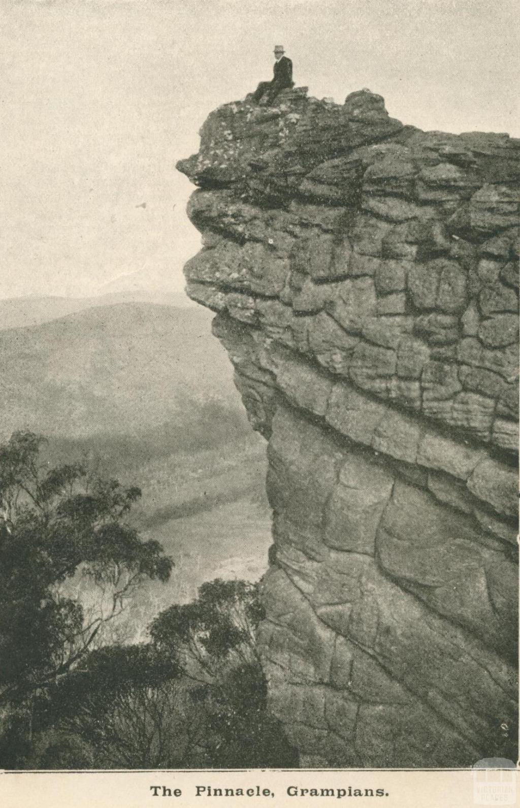 The Pinnacle, Grampians, 1919