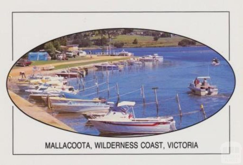 The foreshore camp park at Mallacoota Victoria's Wilderness Coast