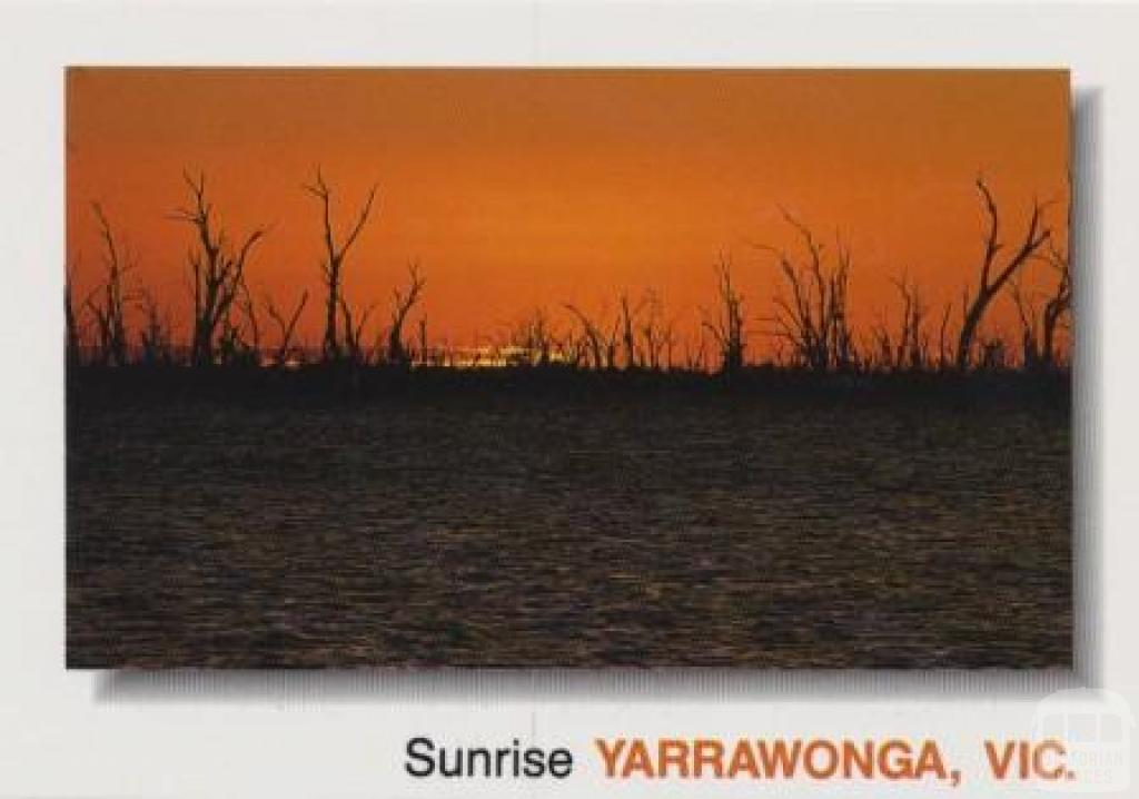 Sunrise over Lake Mulwala, Yarrawonga