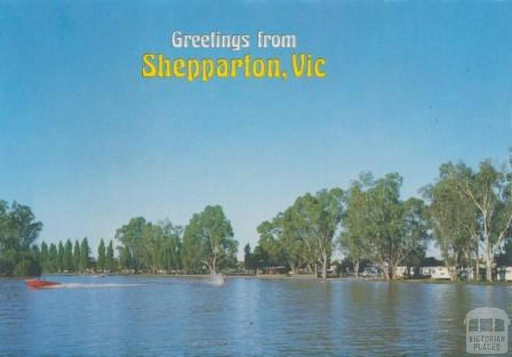 Victoria Lake and caravan park, Shepparton