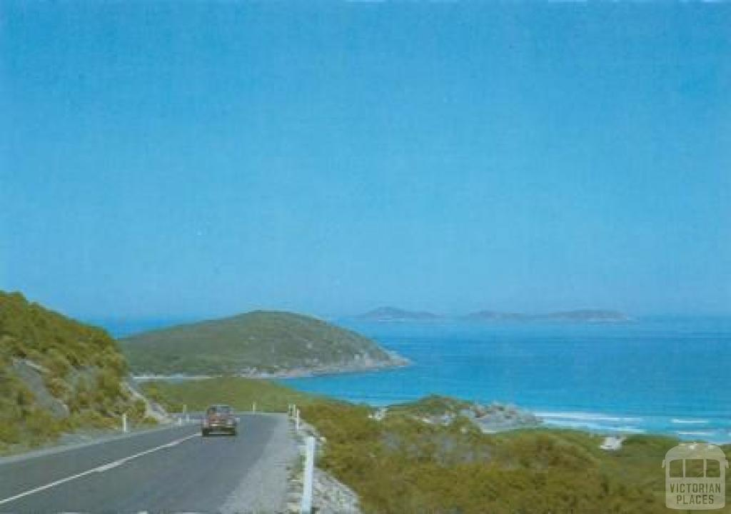 A picturesque view from the Tidal River Road, Wilson's Promontory
