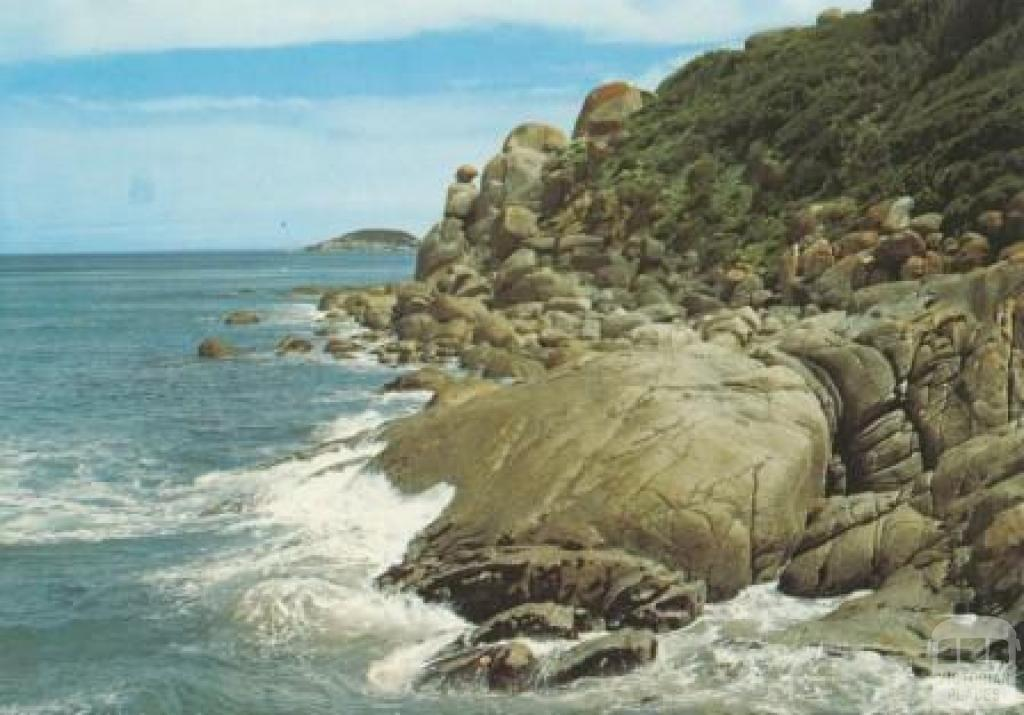 Rugged coastline, Whisky Bay, Wilson's Promontory