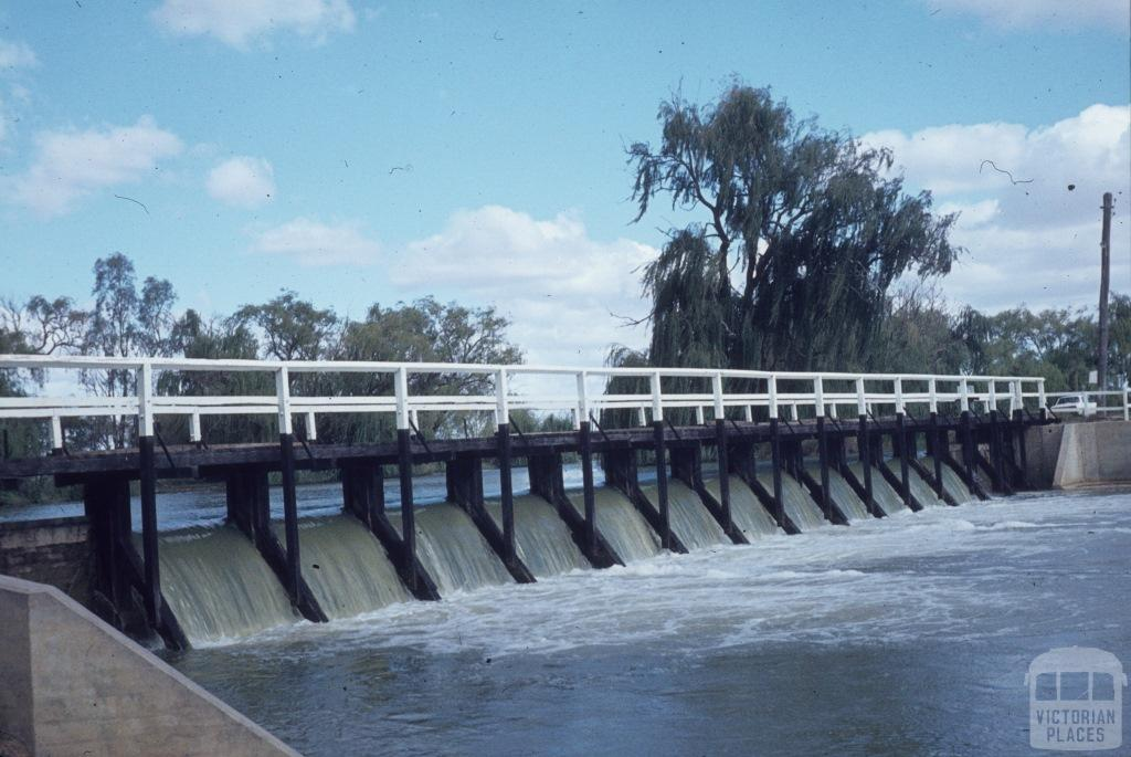 Gunbower Weir
