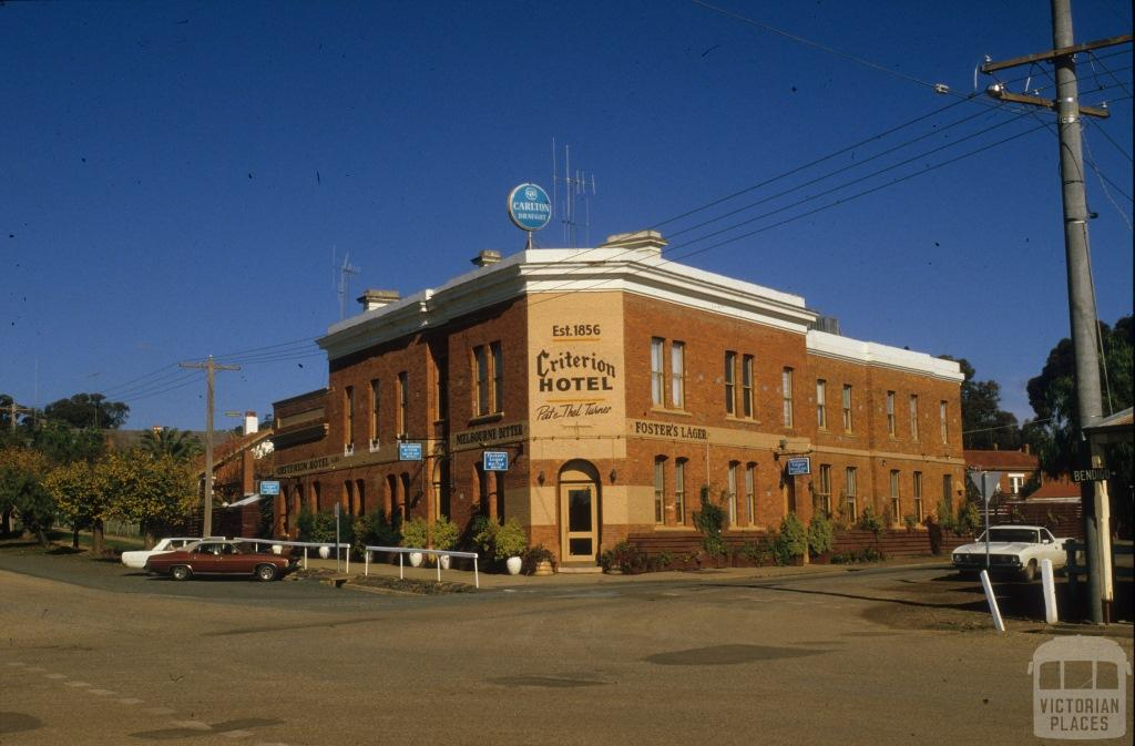 Criterion Hotel, Rushworth