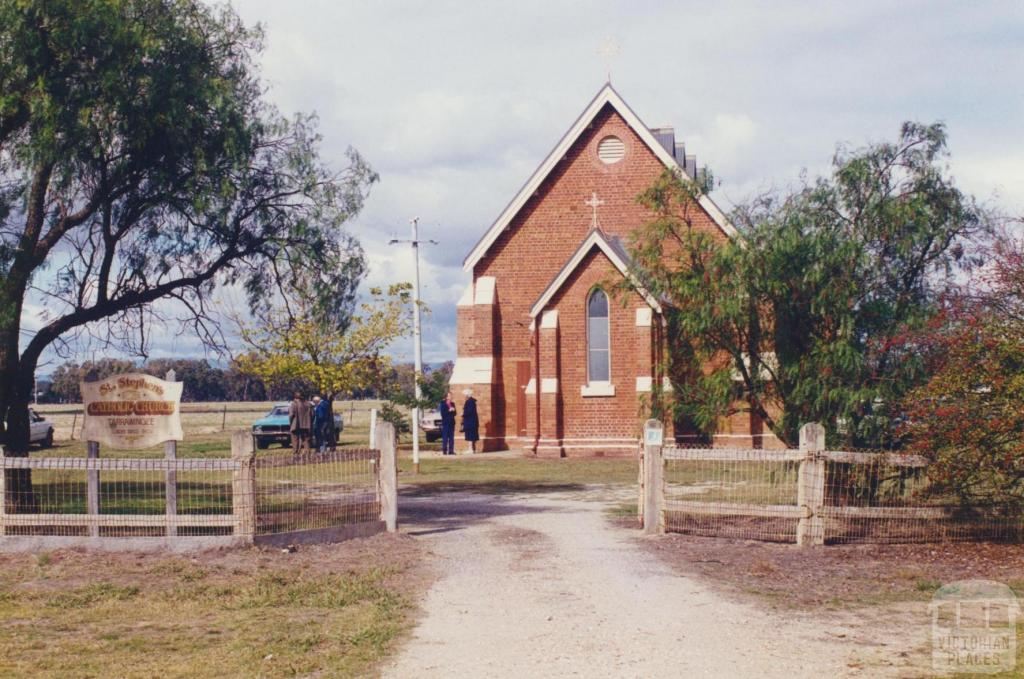 St Stephens Catholic Church, Tarrawingee, 2000