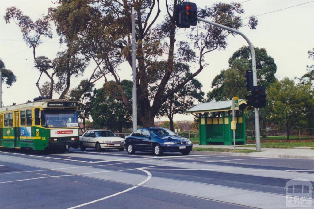 Tram Shelter corner Riversdale and Highfield roads, Camberwell, 2000