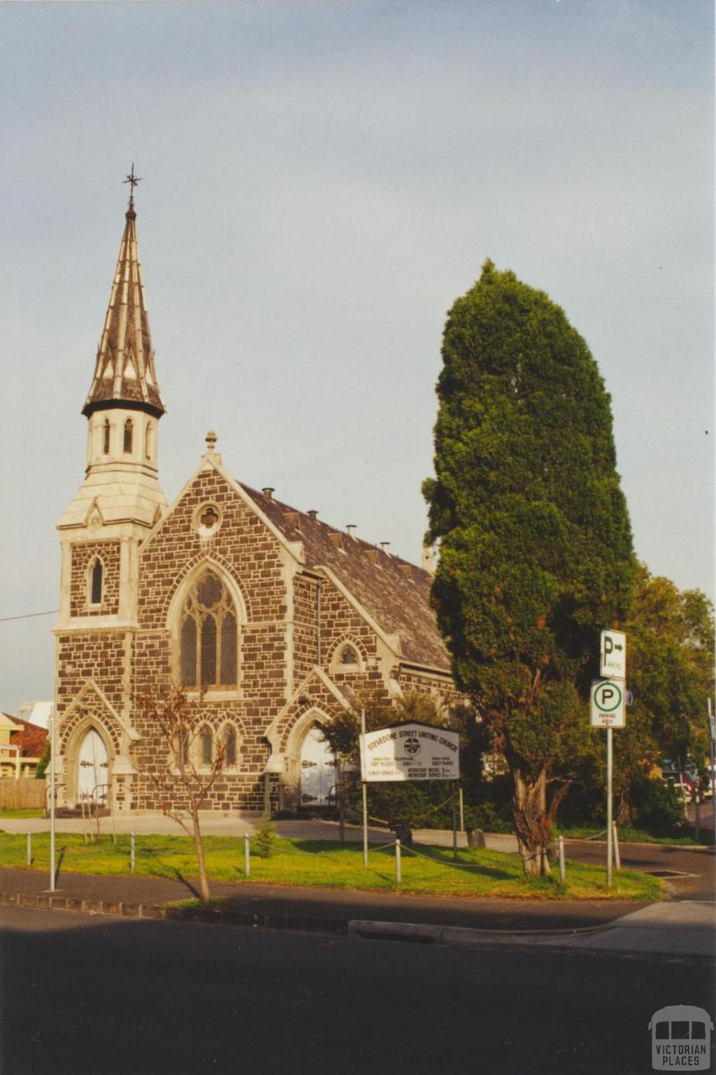 Stevedore Street Uniting Church, Williamstown, 2000