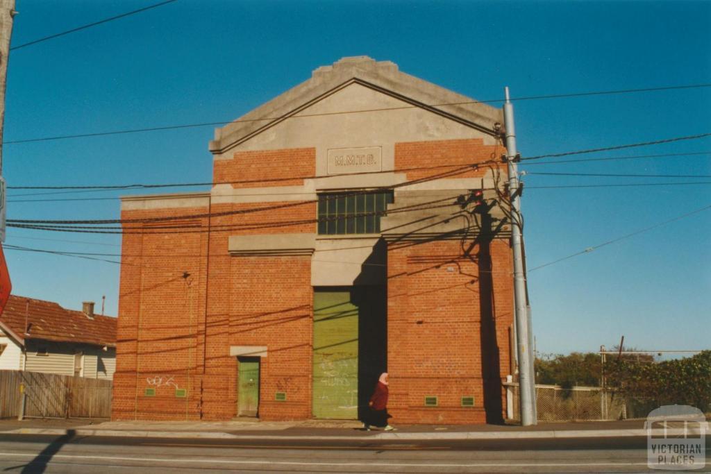 Substation, Maribyrnong Road, 2000