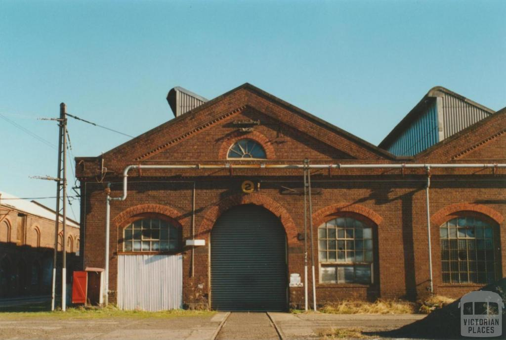 Newport railway workshops, 2000
