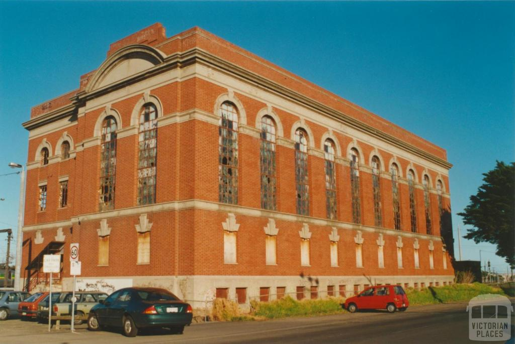 Newport railway substation, Market Street, 2000