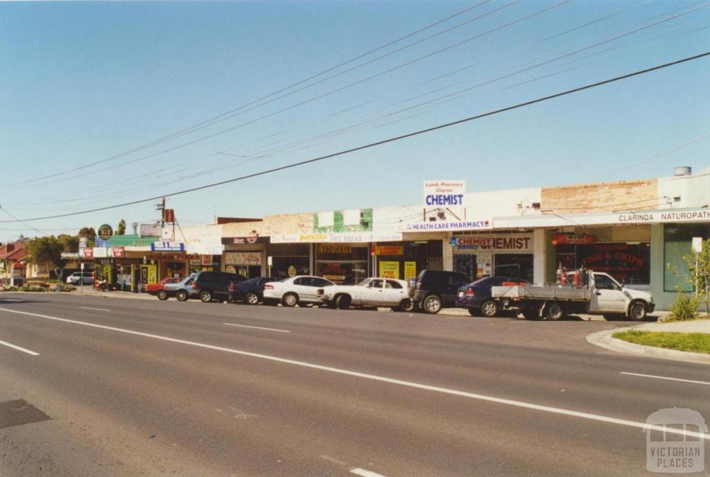 Clarinda Shops, Centre Road, 2000