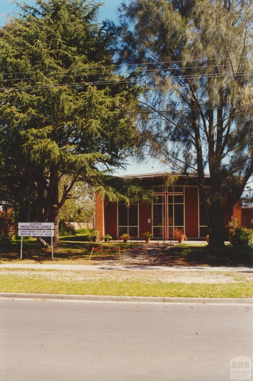 Clarinda Presbyterian Church, 2000