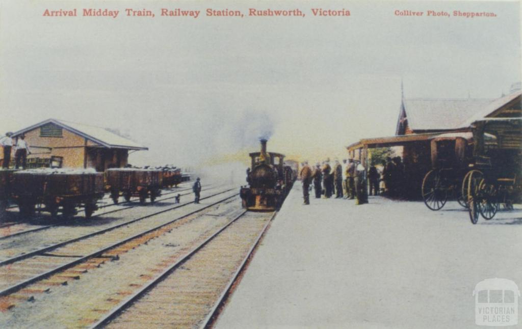 Rushworth Railway Station