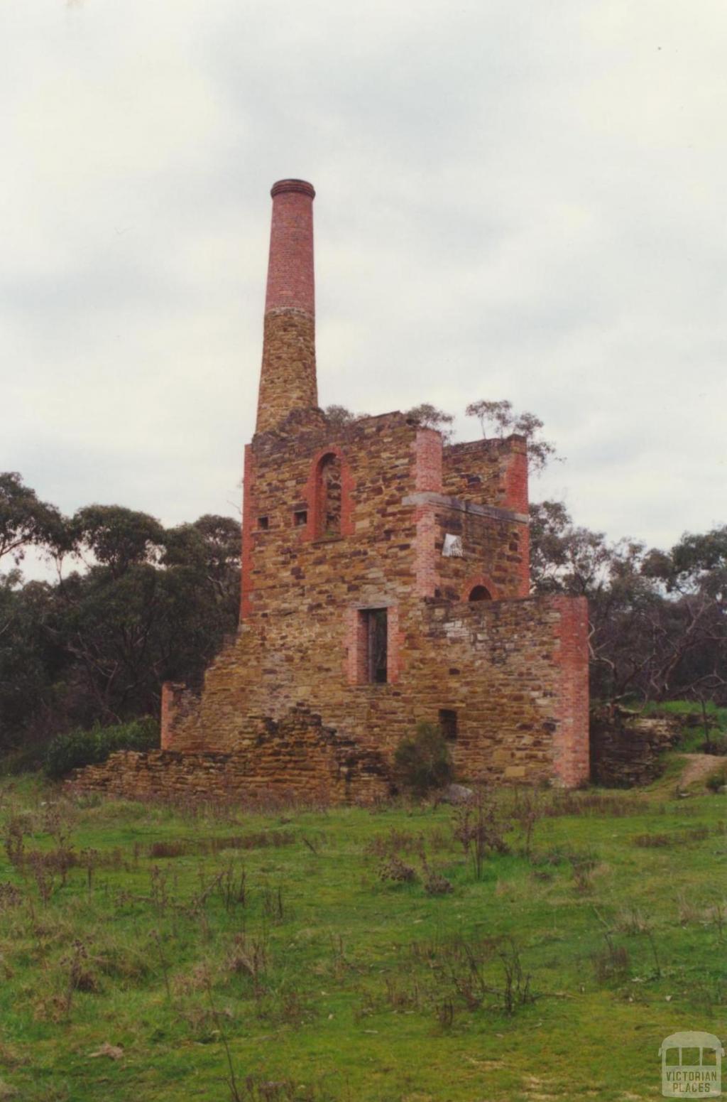 Duke of Cornwall Mine near Fryerstown, 2000