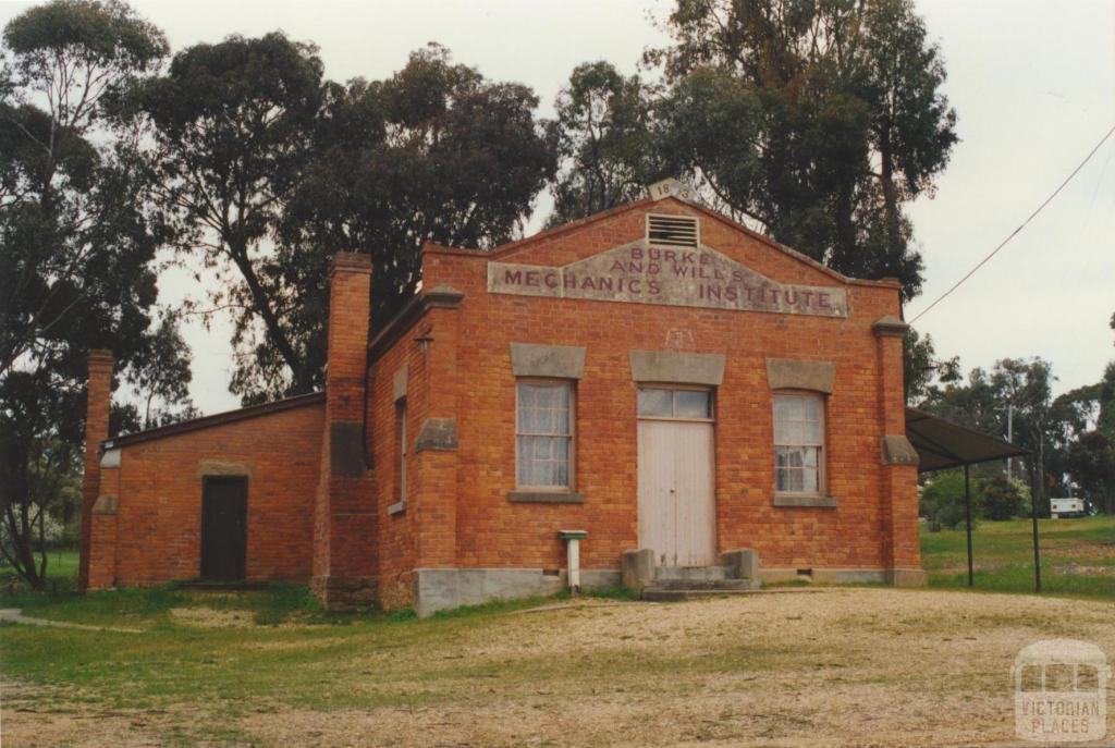 Burke and Wills Mechanics Institute, Fryerstown, 2000