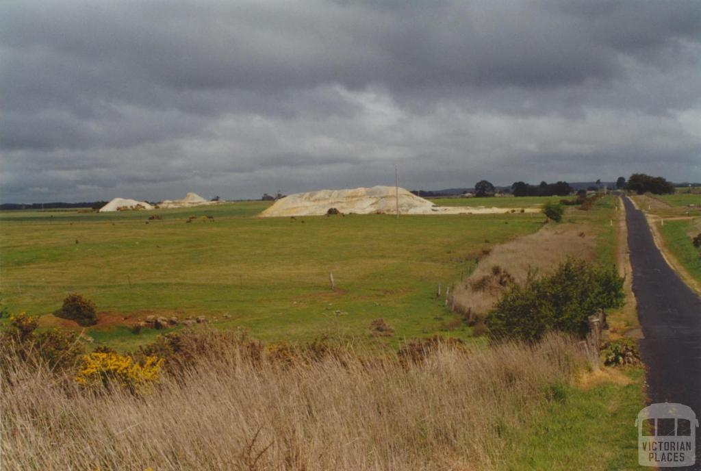Davies Junction, #2 mine, Ullina Road, north of Creswick, 2000