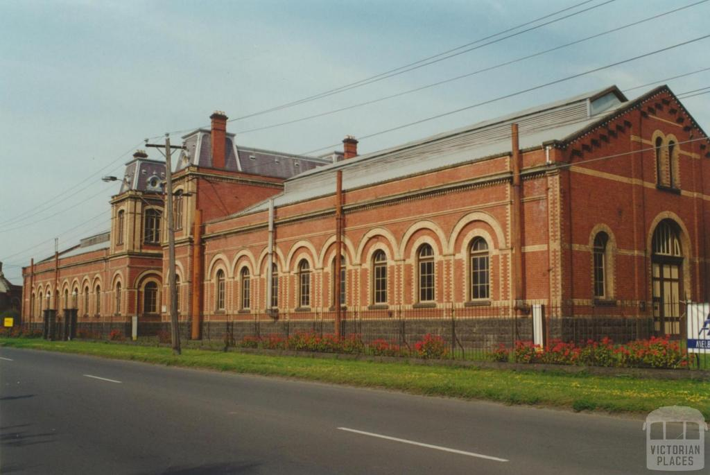 Spotswood, former pumping station, 2000