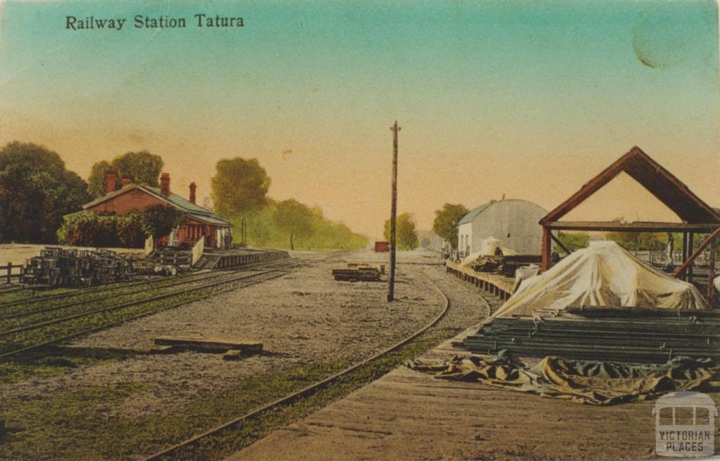 Tatura Railway Station, 1911