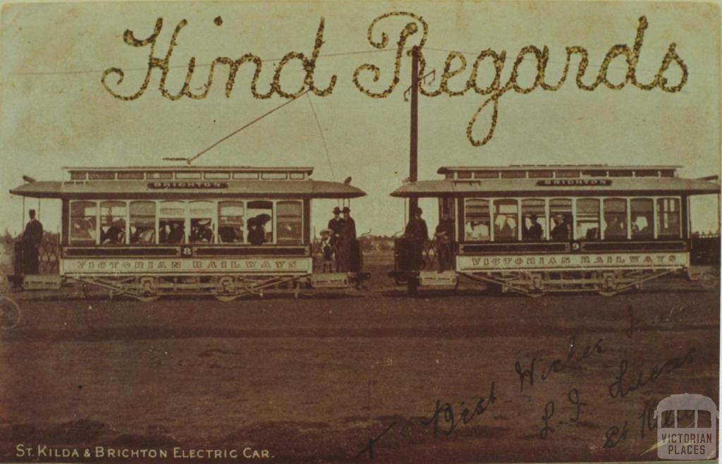 St Kilda and Brighton Electric Car