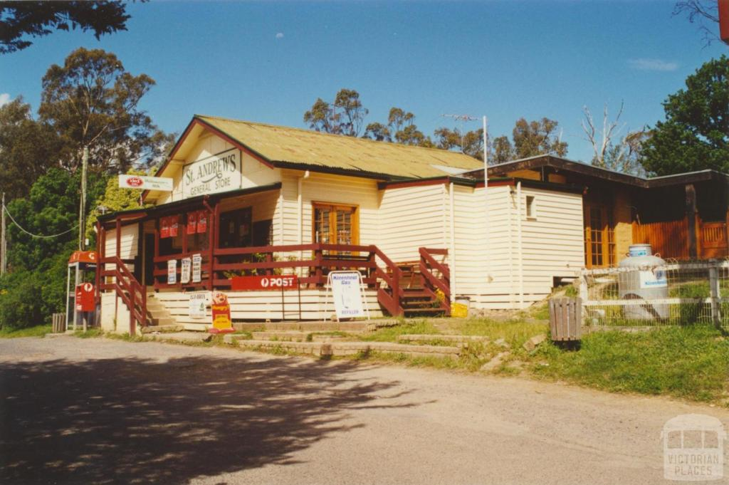 St Andrews General Store, 2000