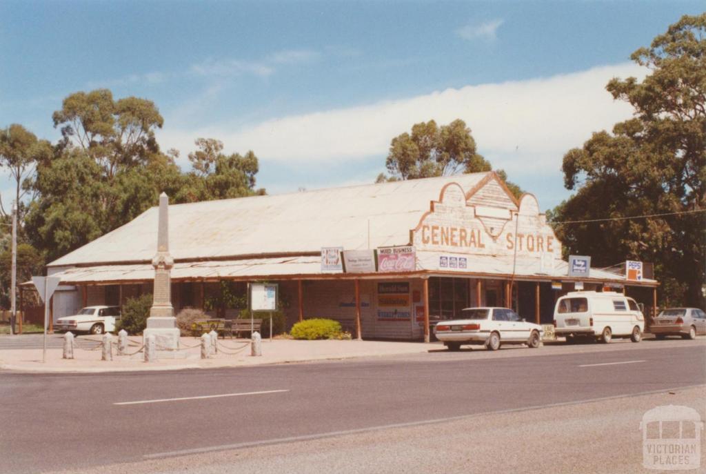 Newbridge General Store, 2001