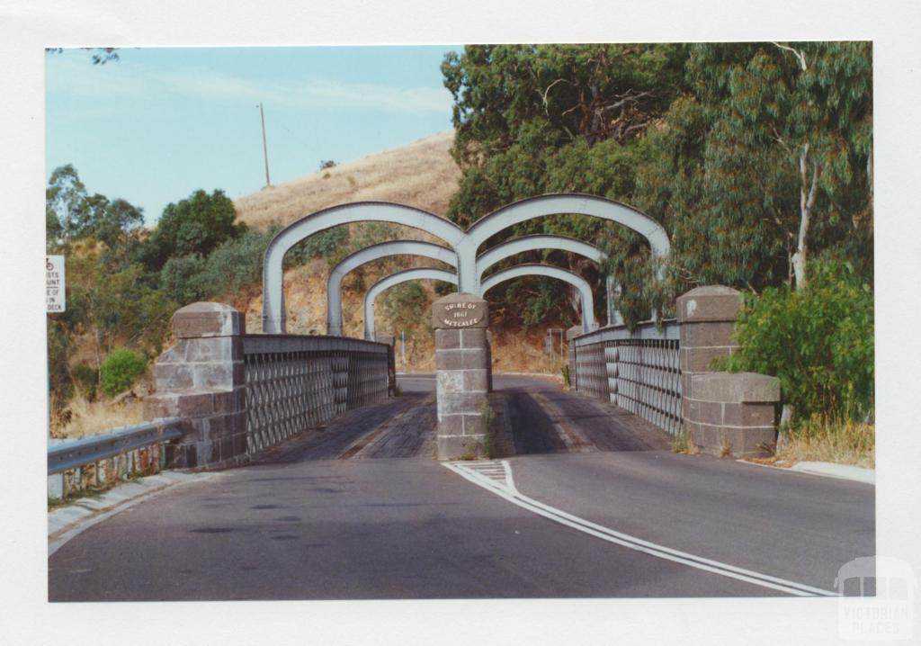 Iron bridge, Heathcote-Kyneton Road, Campaspe River, 2001