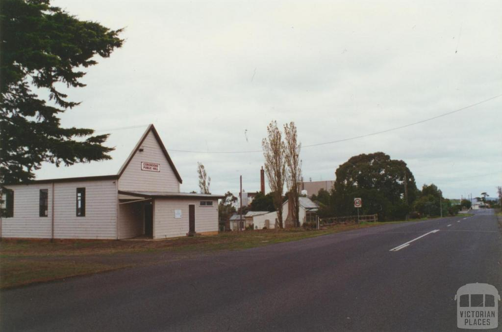 Public hall and Bonlac factory, Cororooke, 2001