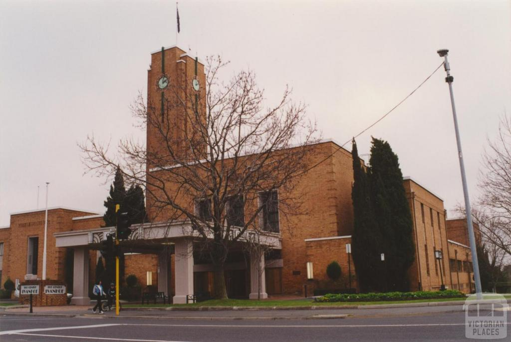 Heidelberg Town Hall, 2001