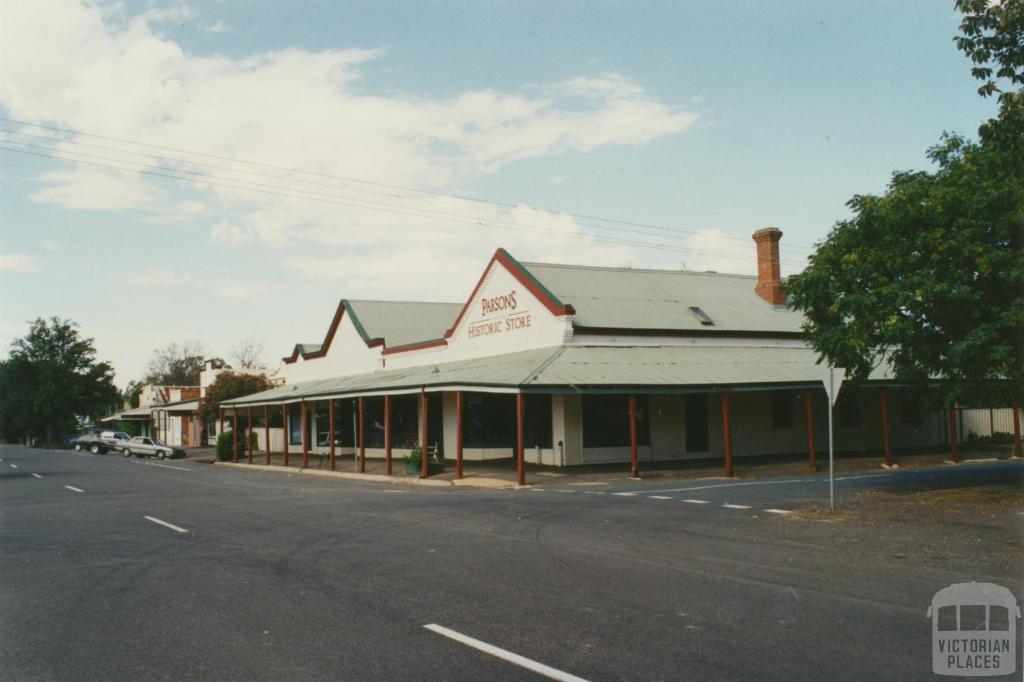 Parsons Historic Store, Elmore, 2002