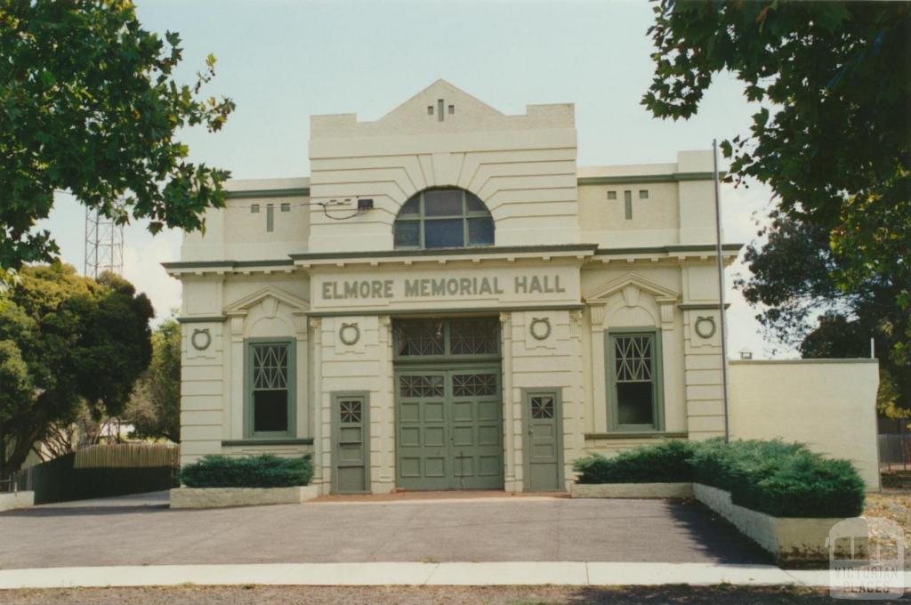 Elmore Memorial Hall, 2002