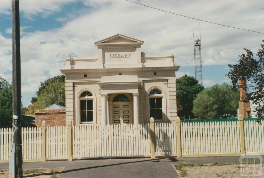 Elmore Library, 2002