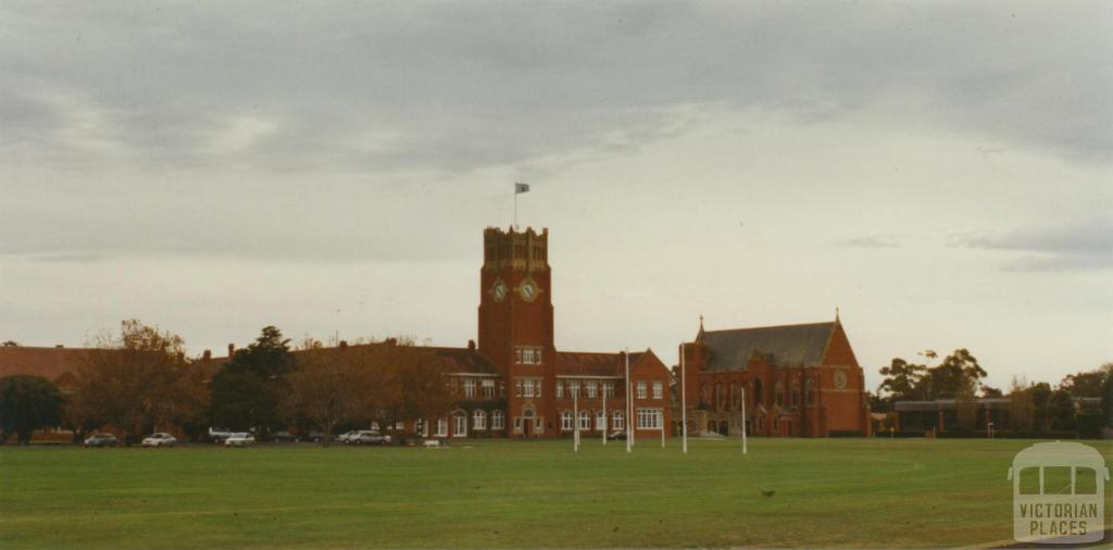 Geelong College, Corio, 2002