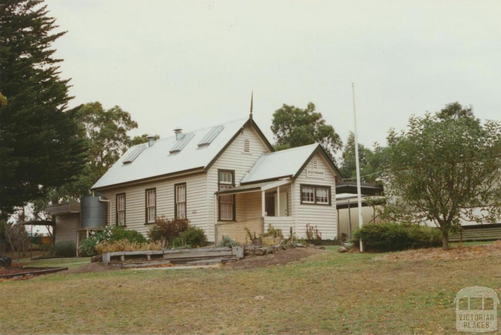 Scotsburn school from oval, 2002