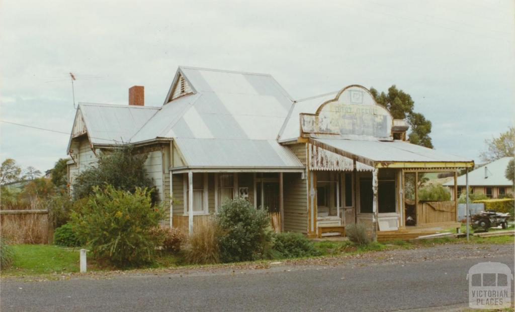 Jumbunna general store in course of refurbishment, 2002
