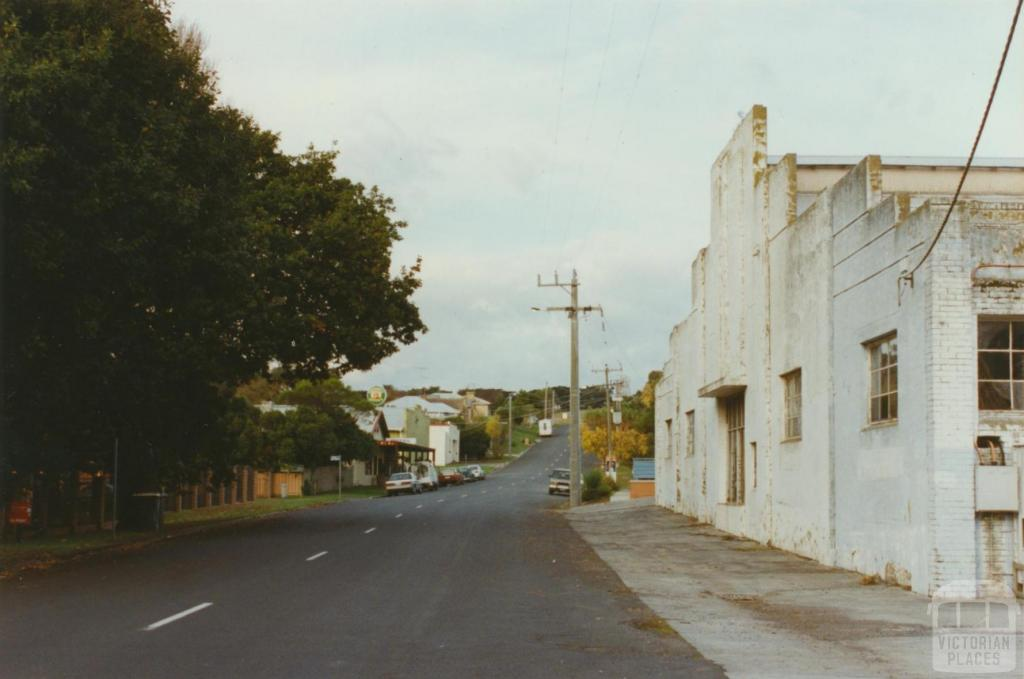 Archies Creek, former dairy factory, 2002