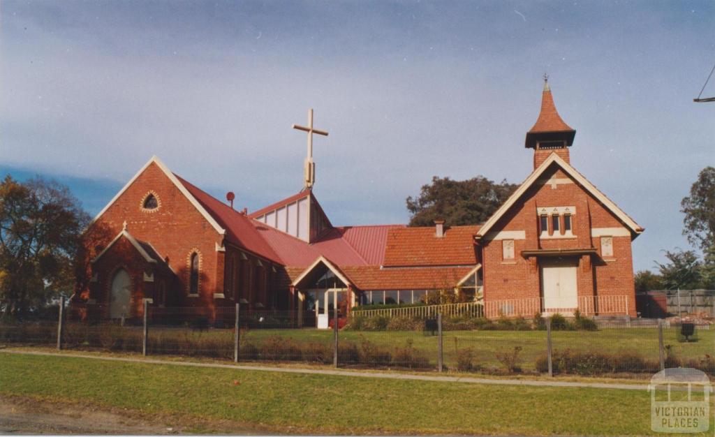 St John's Anglican Church, Main Street, Diamond Creek, 2002