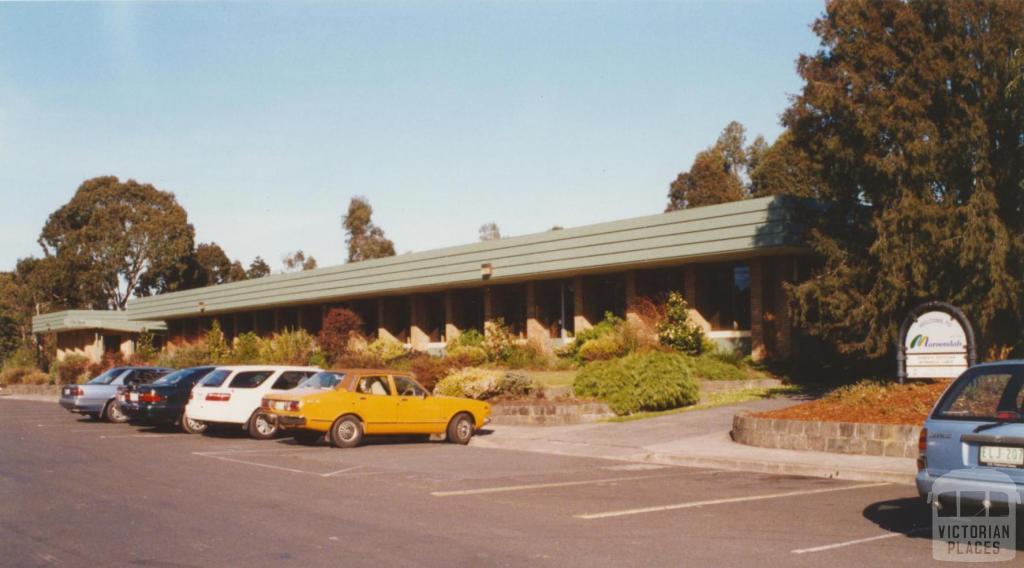 Croydon Council offices, 2002
