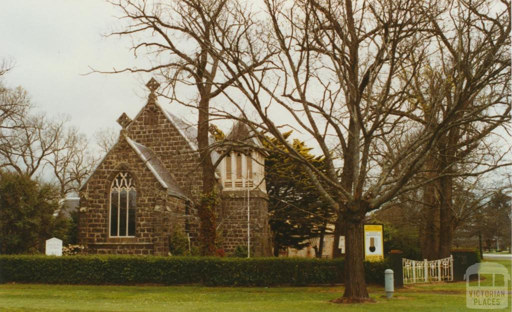 Buninyong Anglican Church, 2002
