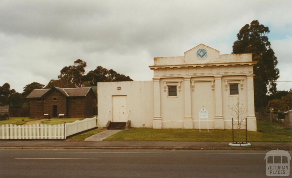 Smythesdale masonic temple, 2002