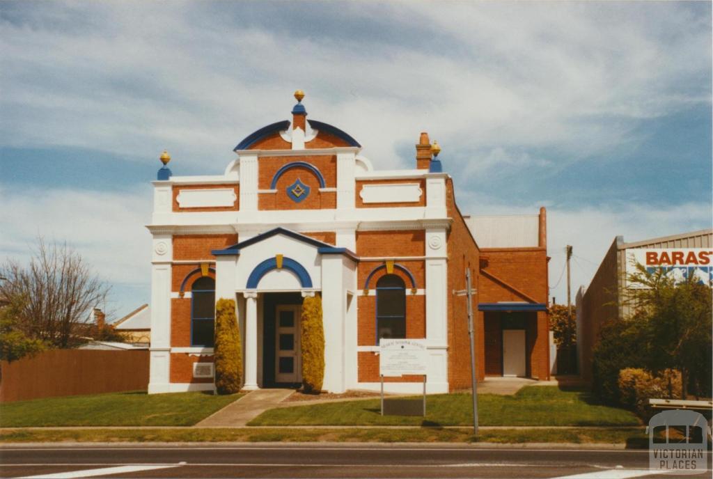 Ararat Masonic temple, High Street, 2002