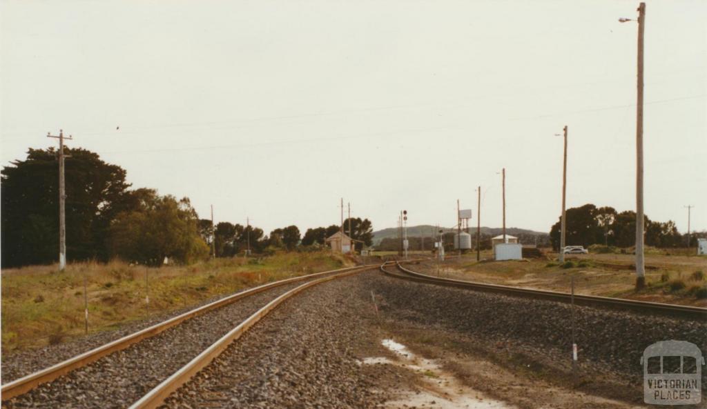 Maroona rail line, 2002