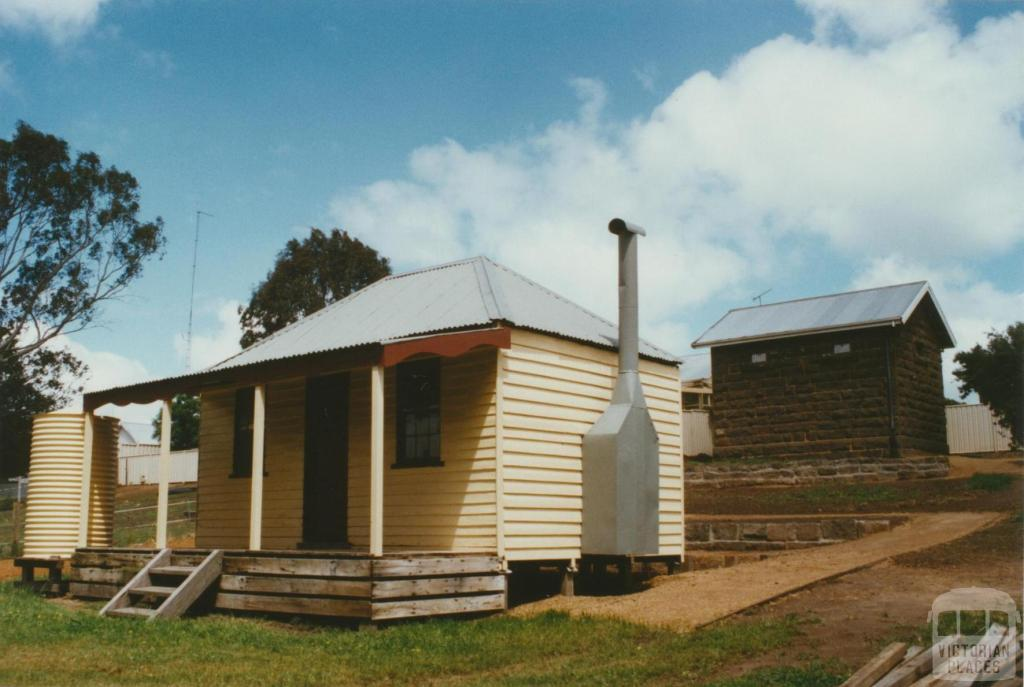 Cavendish restored cottage and gaol, 2002