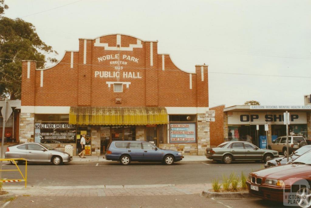Noble Park Hall, Buckley Street, 2003