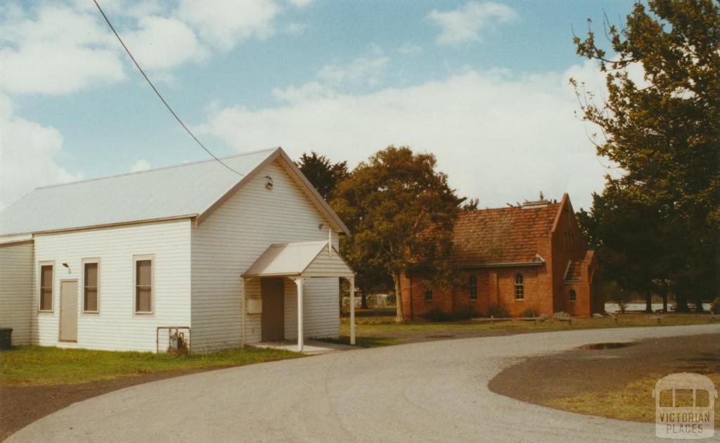 Officer hall and Union Church, 2003