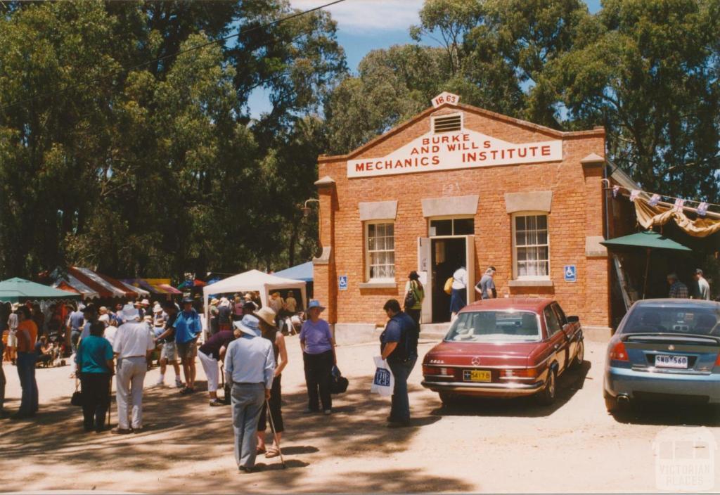 Fryerstown Burke and Wills Mechanics' Institute, 2003
