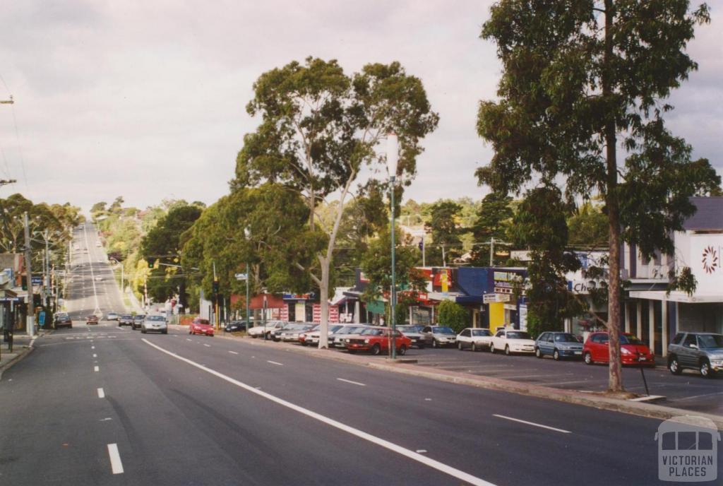 Lower Plenty Road, Rosanna, 2005