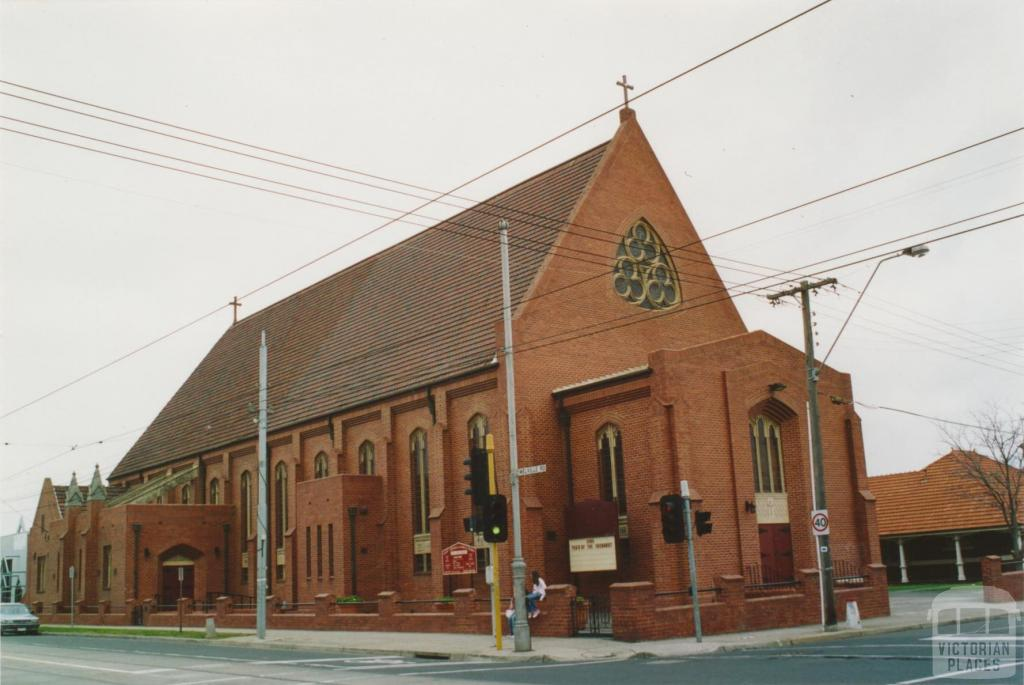 St Josephs Catholic Church, Melville Road, Brunswick West, 2005