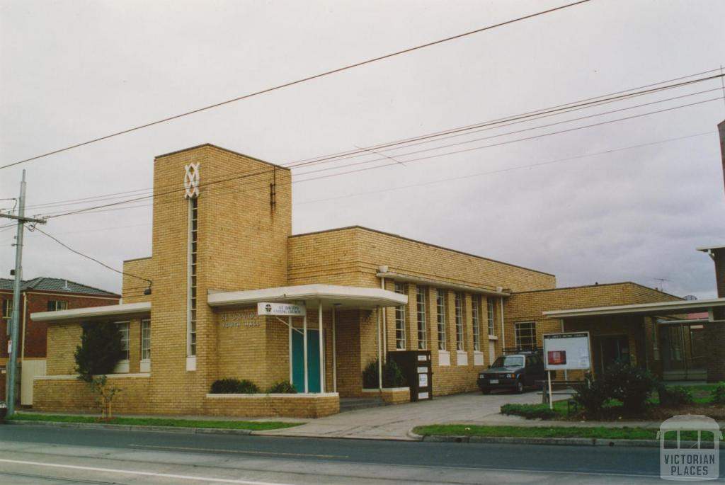 Uniting Church (former Presbyterian), Melville Road, Brunswick West, 2005