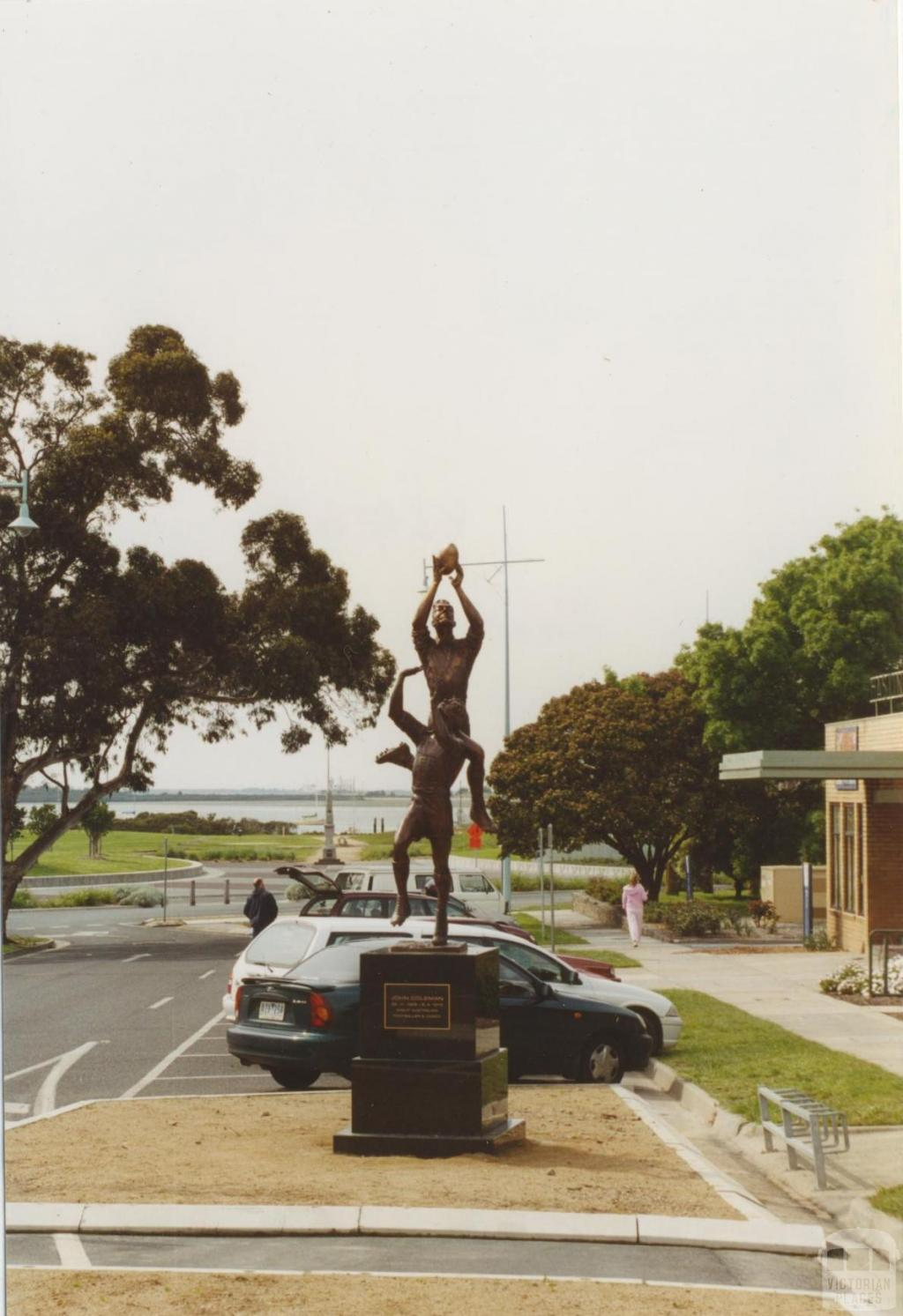 John Coleman statue, High Street, Hastings, 2005