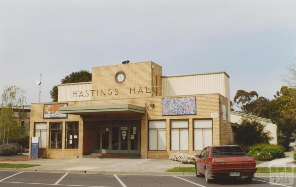 Former shire hall, Station Street, Hastings, 2005